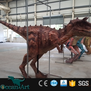 OAZ3067High technology animatronic walking dinosaur puppet costume