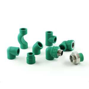 Blue color ppr pipe and fitting for water supply