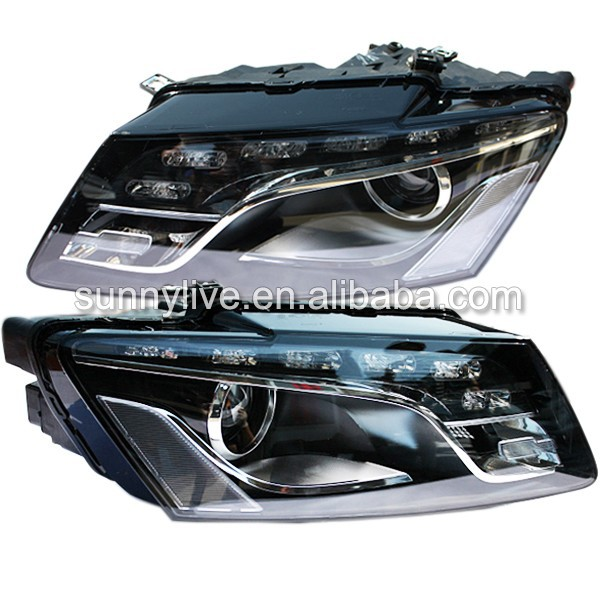 For Audi Q5 LED Head Light with projector lens 2010-2012 Year