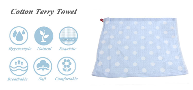 Cupcake cheering 100% cotton children jacquard cartoon hand towel