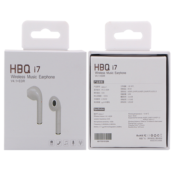 Hbq I7 Single Mini Blue Tooth Headset For Iphone 8 Wireless Earbud Buy For Iphone 8 Wireless Earbud Product On Alibaba Com