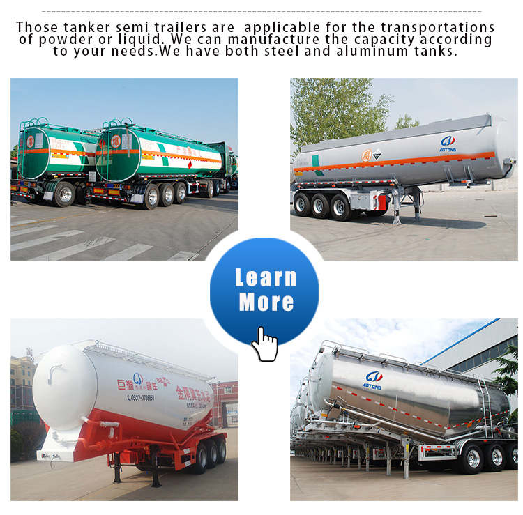 Low Price 3 Axles 60 Tons Powder Material Carrier Mobile