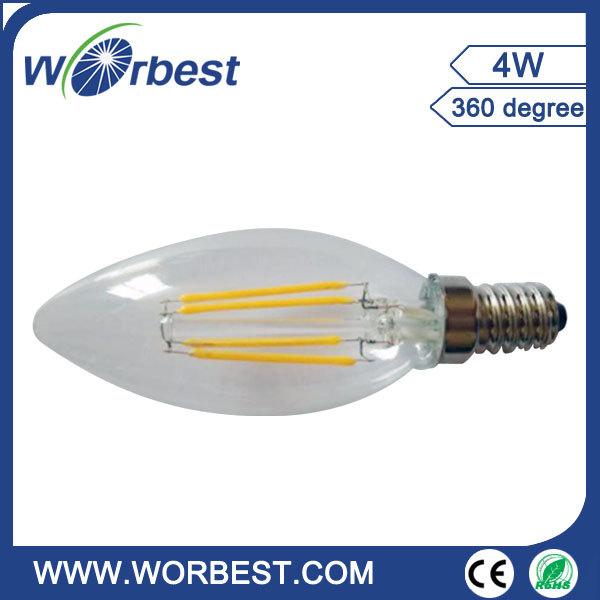 Amber Color 80w Equal St64 Led Filament Edison Bulb Soft White ...