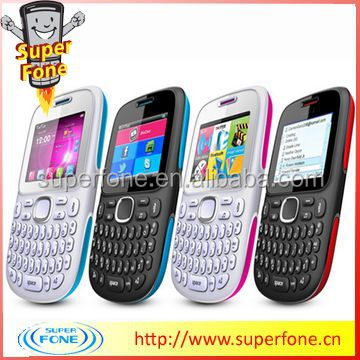 2 inch LCD Screen Quad Band Mobile Phone from China (D102-FM )