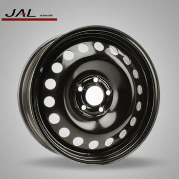 Universal 17 Inch Steel Wheels 5 Lug Hole Snow Rims For Winter