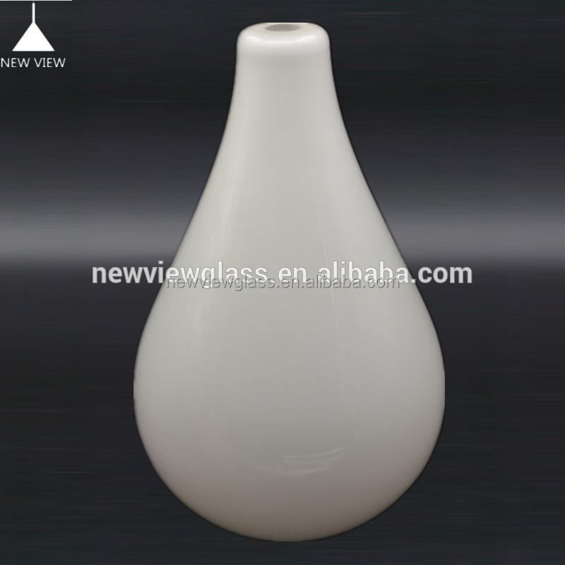 Indoor&Outdoor Milk lighting glass lamp shade/cover for chandelier pendant light