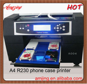 For iPhone 5 phone case printing machine, Digital cell phone case printer