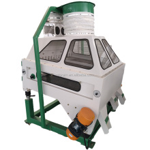 Destoner/grain cleaner/seed gravity table/ small seed cleaner in flour mill plant