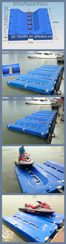 Used Plastic Jet Ski Floating Dock Buy Jet Dock For Sale