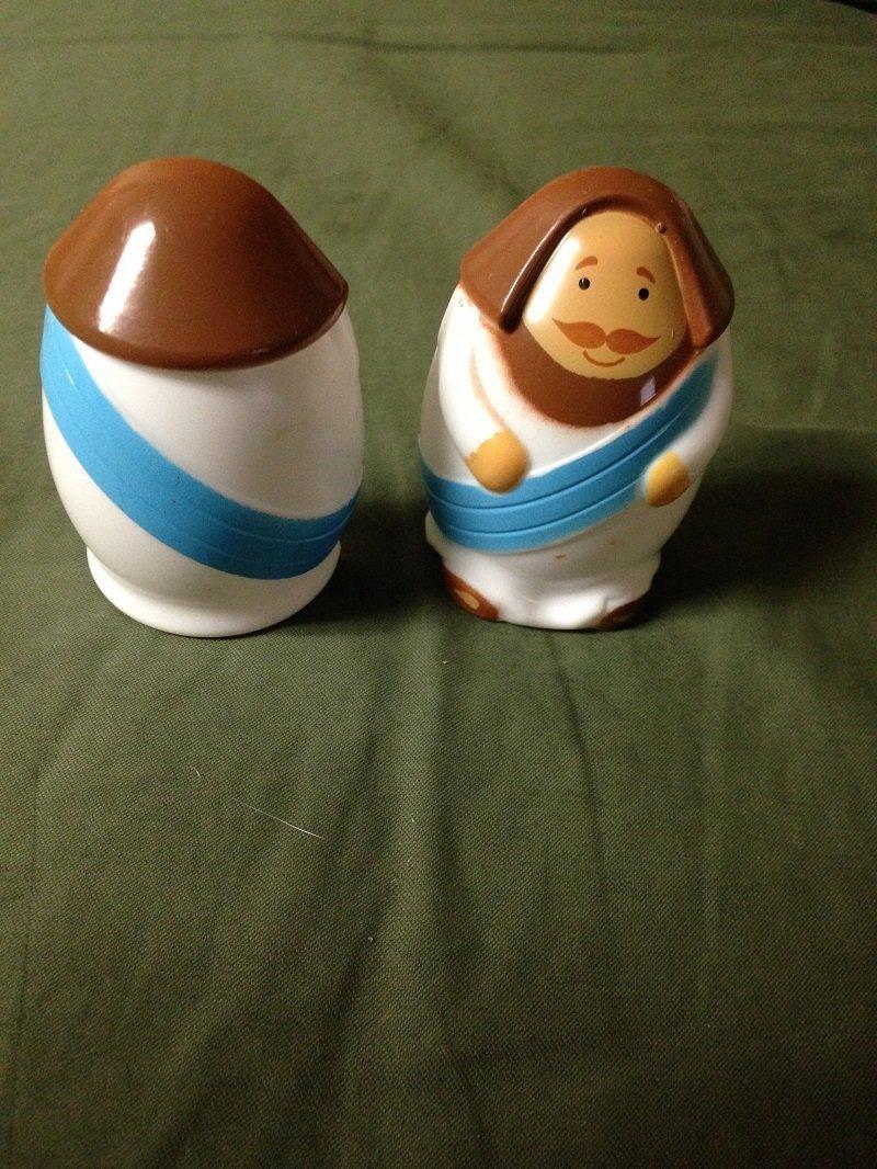 Jesus Plastic Easter Eggs for Easter Egg Hunts- Pack of 24 Eggs Per Order