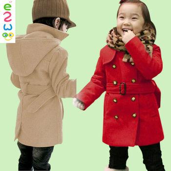 Rode Winterjas.Baby Meisjes Rode Wol Jas Winterjas Buy Rode Winterjas Baby