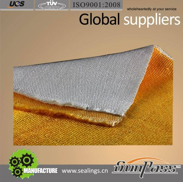 Molten and Splash Metal Protection Colorful Thermal Insulation Glass Fiber Fabric Heat Reflective Fabric