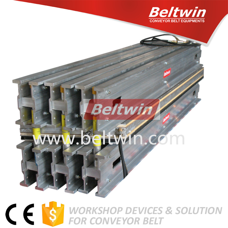 Beltwin Protable one piece 200PSI Steel Cord Belting Cable Vulcanizer hot splicing press for conveyor belt