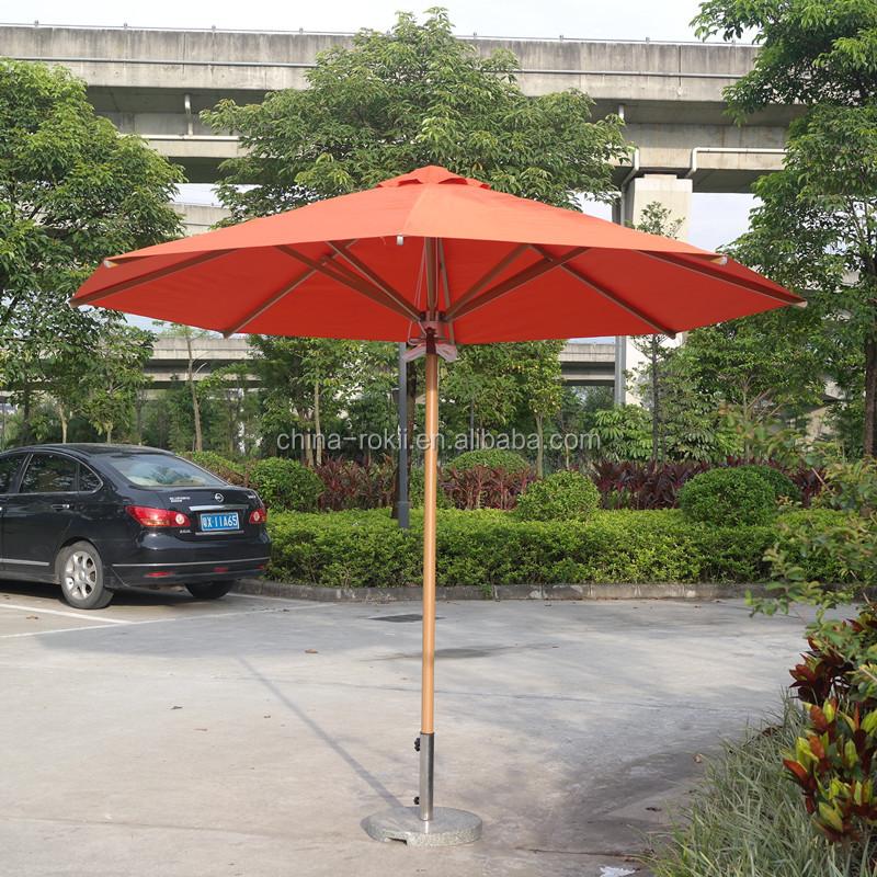 Outdoor Patio Umbrella Canopy Metal Garden Cantilever Parts Sun Parasol