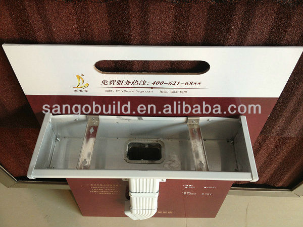 Hot Sale Sgs Tested Rain Chain Gutter Aluminum Types Of