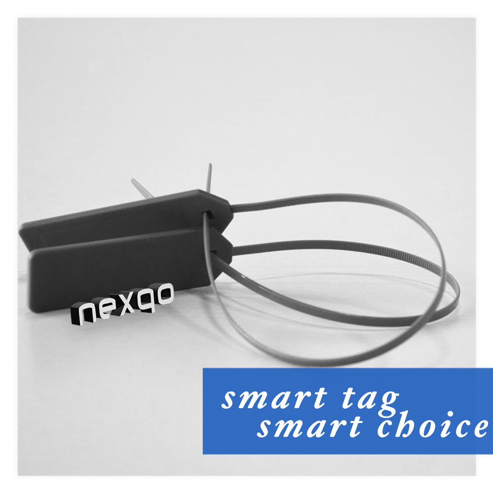 RFID Cable Tie Tags With Labels For Inventory Tracking And Logistic Management
