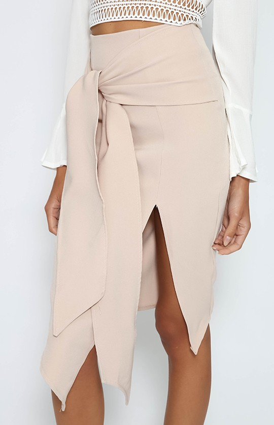 hot sell sexy half skirt front split