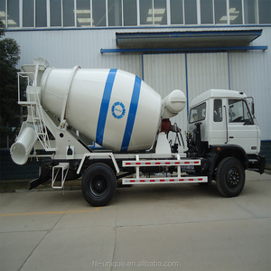 Mobile mini small ready mix concrete truck mixer self laoding truck for  sale in philippines for sale