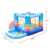 Personalized Best Price Custom Top Quality Pvc rainbow Inflatable Bouncy Castle with ball pool