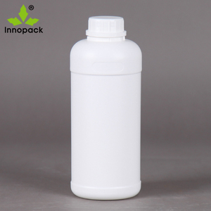 High quality plastic 1 litre bottle HDPE tamper proof bottle liquid fertilizer/pesticide plastic bottle