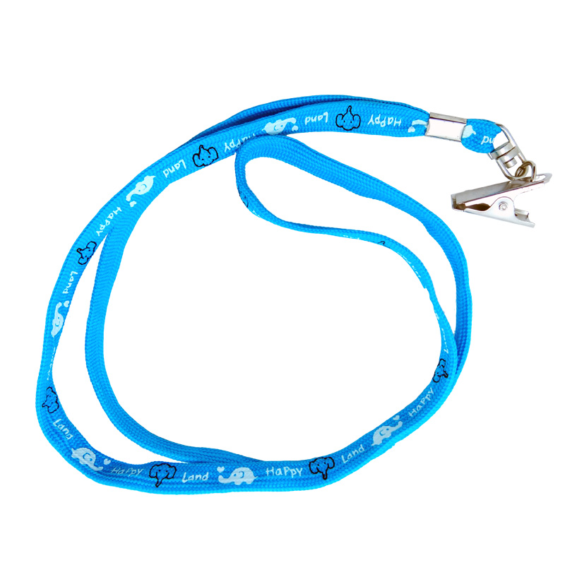 China Factory Competitive Price Custom Printing Polyester neck strap key chain lanyard