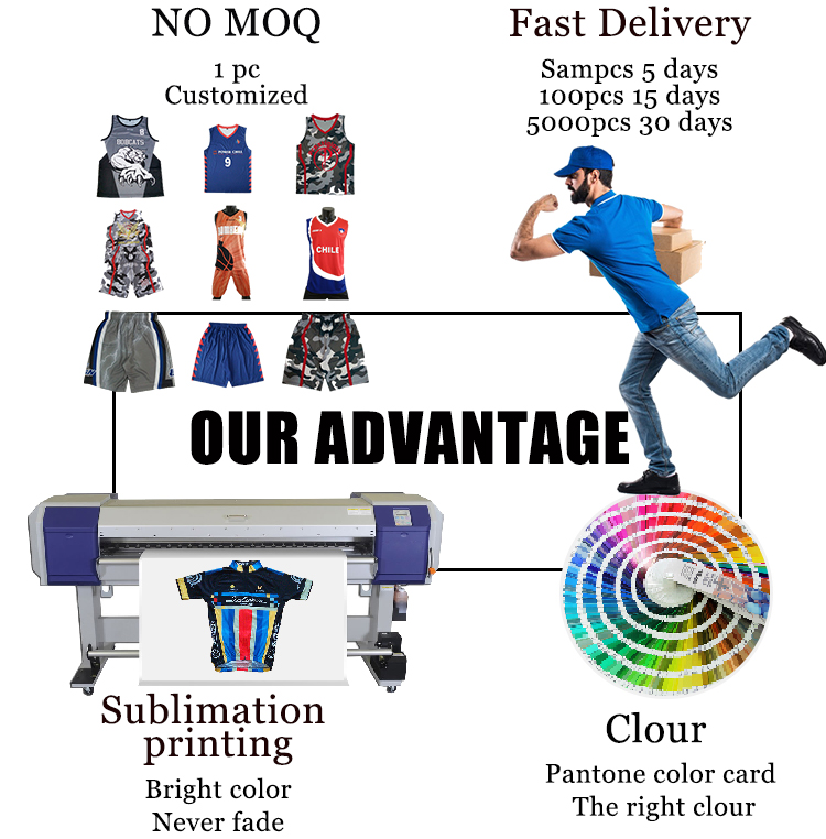 Wholesale sublimation high quality new model design team cricket jersey