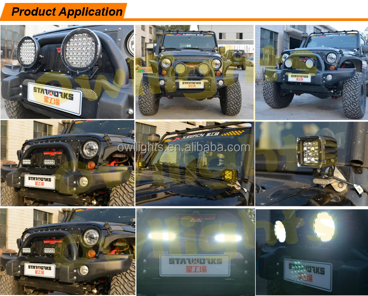 Many Colours ! Led Driving Light 9inch 185w Auto Parts Led Work ...