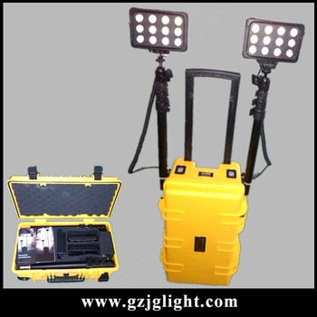yellow portable led 12v work lights mining lamp battery backup led emergency light