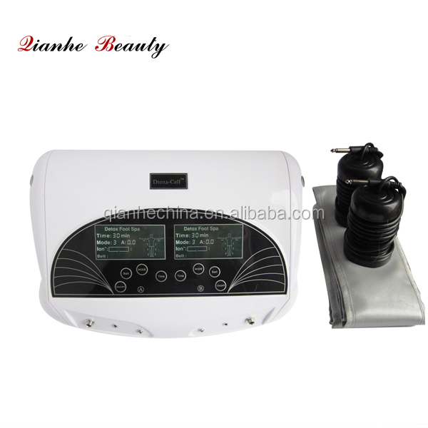 ft-001 new arrival 2 in 1 dual system body cleanse ionizer foot detox machine