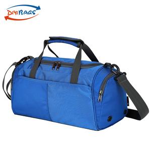 Blue Green Nylon Luggage Travel Tote Gym Bag For Men Women f3679c6cf0535