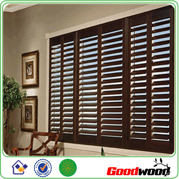Unfinished Interior Window Shutter With Hiden Tilt Rod   Buy Wood  Plantation Shutter,Shutter,Basswood Shutter Product On Alibaba.com