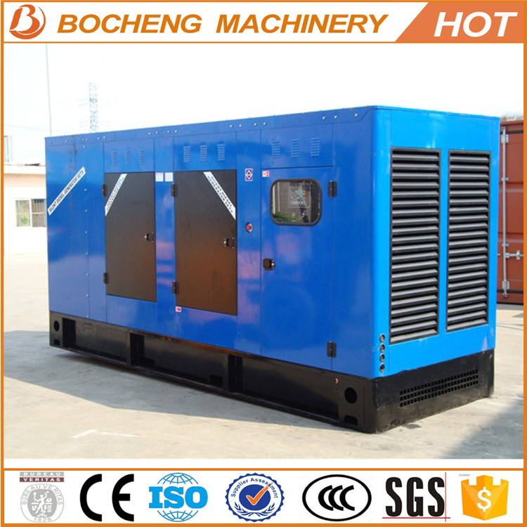 Single phase diesel generator with steel common base