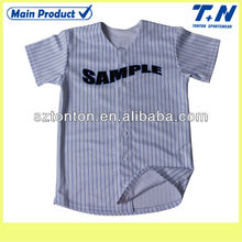 baseball t shirt whole sublimation