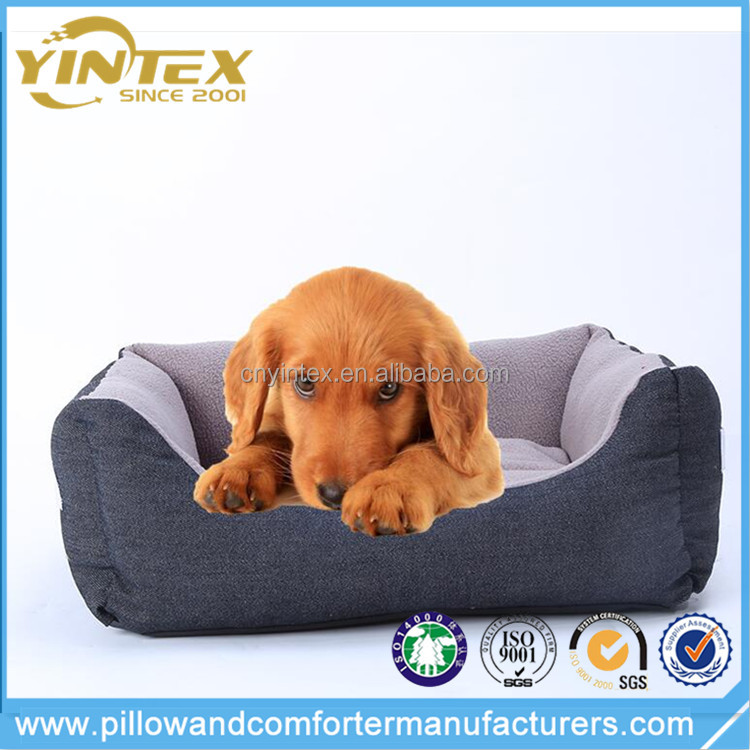 Pet Accessories Oxford Cloth Square Shaped Pet Bed