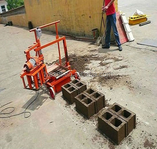 Small Manual Concrete Block Making Machine Cement Block