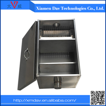 Oil And Grease Trap For Restaurant Wastewater - Buy Stainless Steel ...