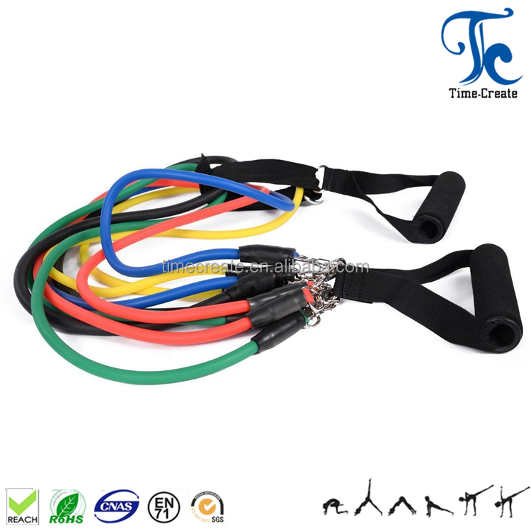 Gym Fitness Equipment,Weight Loss Body Building Latex Resistance Bands Workout Exercise Pilates Yoga Fitness Tube