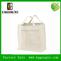 2014 China wholesale natural plain canvas tote bags/large tote bag cotton