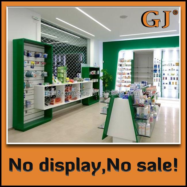Manufacturer Direct Sale Display Racks Pharmacy Cashier Counter