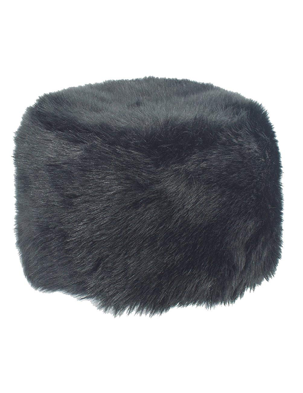 554c0940ec3 Get Quotations · Dahlia Women s Winter Faux Fur Russian Cossack Hat - Black