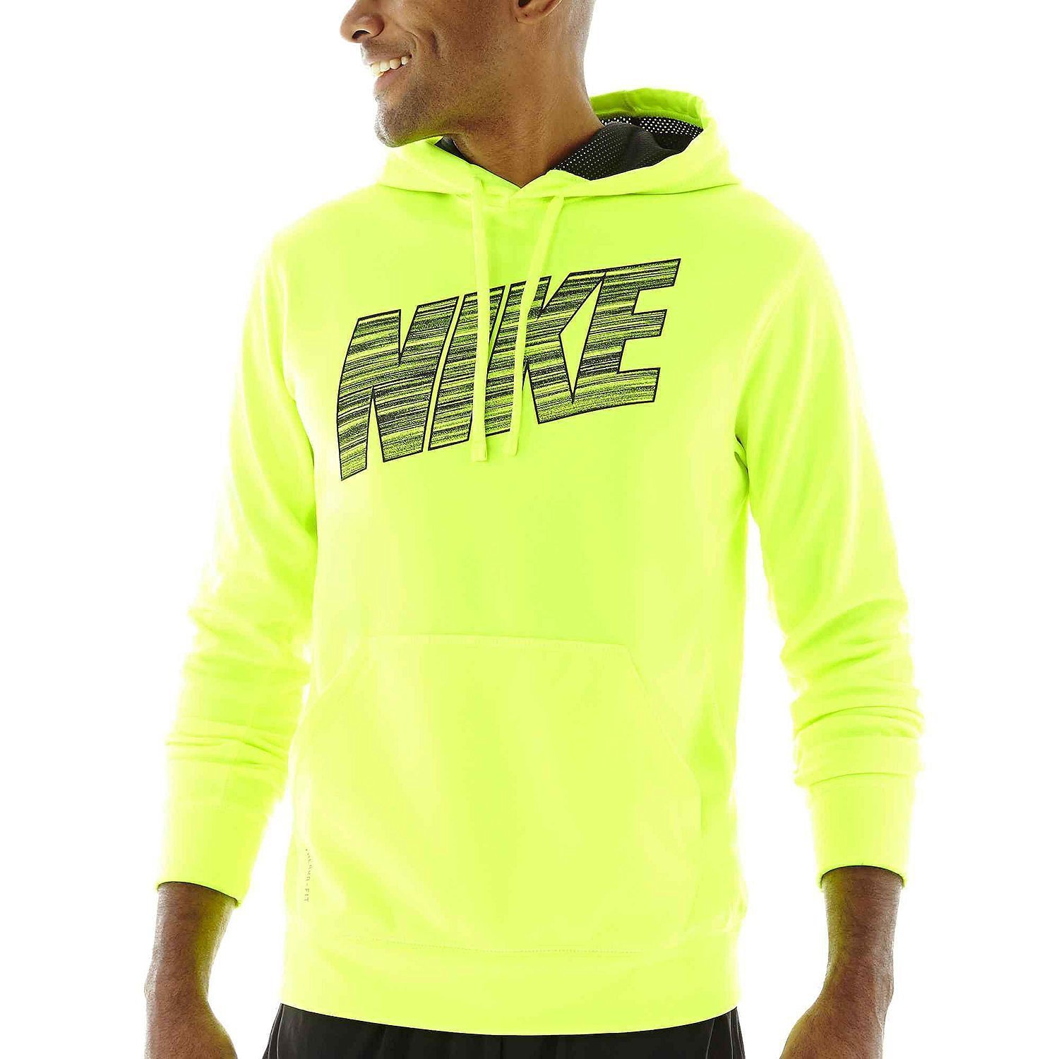 vast selection temperament shoes classic style Nike Men's Ko Hyper Blur Hoodie Therma-fit Volt Large