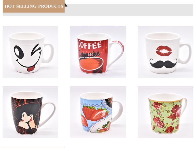 Hot Sale Hadiah Indah Ramah Lingkungan Keramik Cangkir dengan Sendok Kopi Mug Menerima Kustomisasi Logo