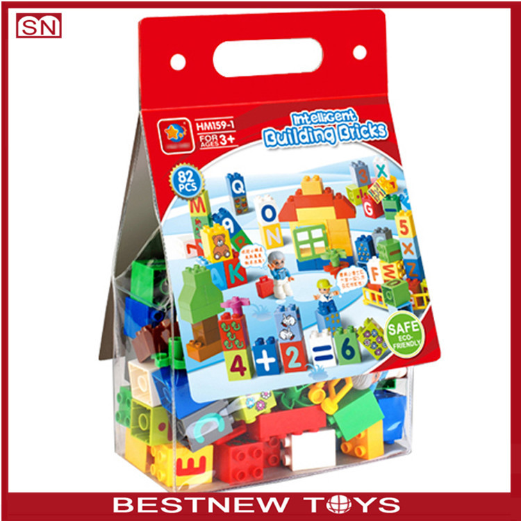 Hui mei building block cheap toy building blocks for kids