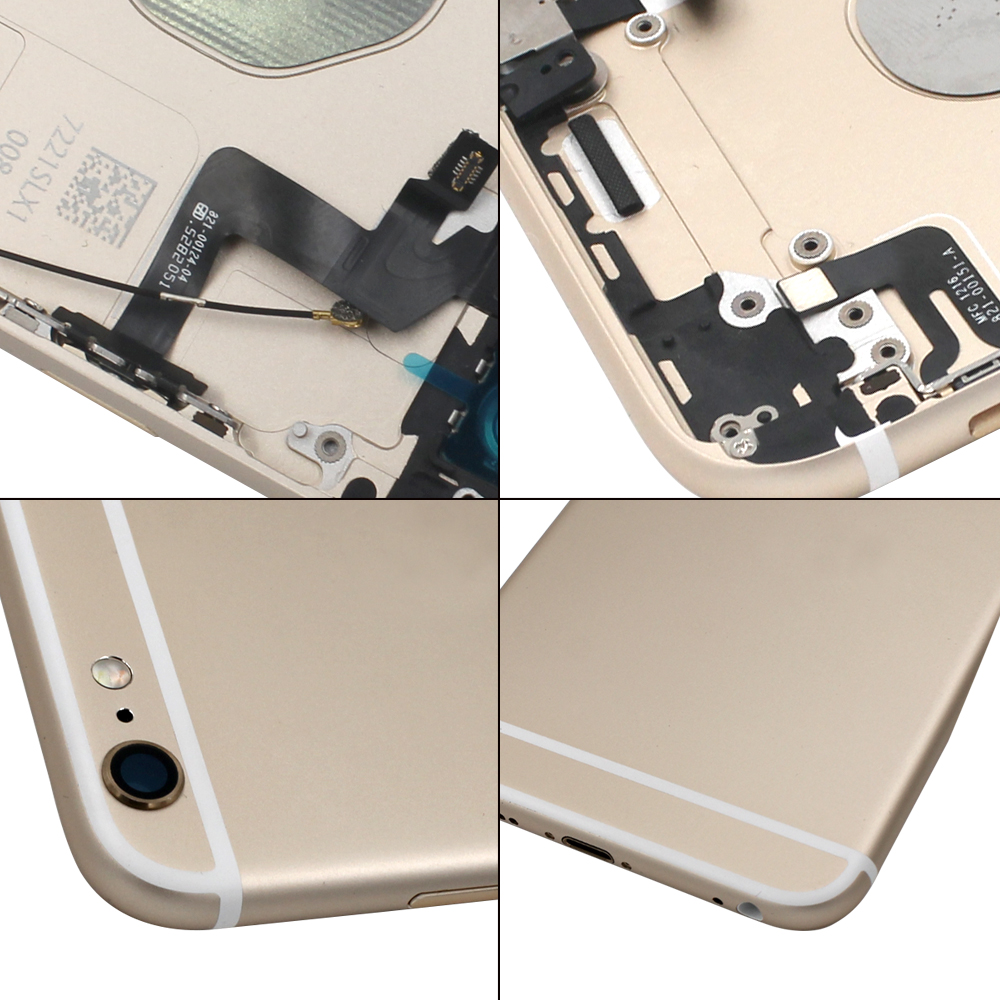Factory price battery door cover for iphone X,rear back housing with imei and logo