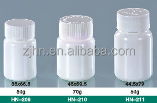 100ml flat shape HDPE plastic vaccine bottle, veterinary vaccines