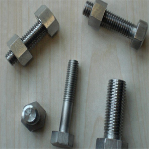 347/UNS S34700/1.4550 hex bolt