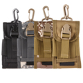 High density Nylon Outdoor Hiking Cycling Money Pocket Tactical Molle Cell Phone Waist Pouch Bicycle Bags