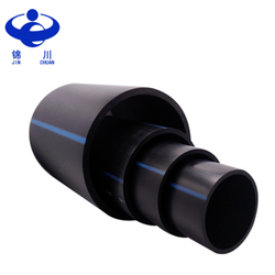 Manufacturer direct sales black 100% PE material 50mm hdpe pipe