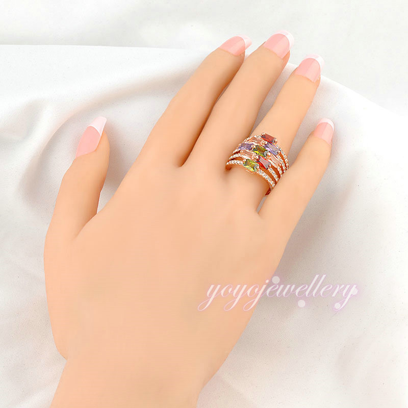 lucky 2016 jewelry different colors stones kundan ring designs ...