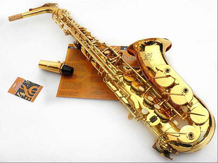 best selling french e flat alto saxophone reference 54 electrophoresis gold saxe top musical. Black Bedroom Furniture Sets. Home Design Ideas